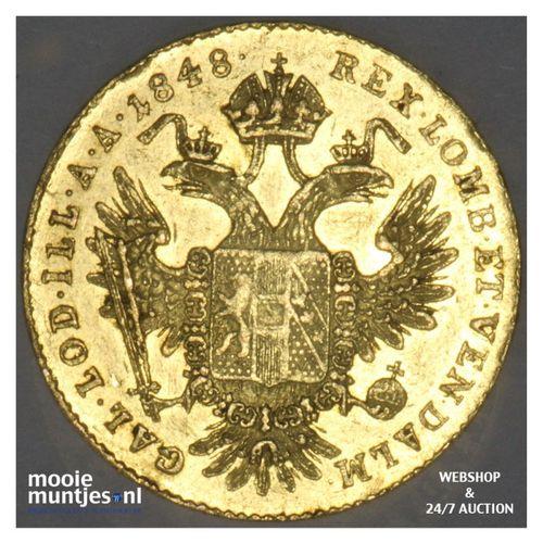 ducat - (trade coinage) - Austria 1848 B (KM 2262) (kant A)