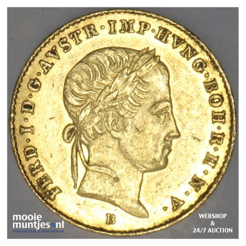 ducat - (trade coinage) - Austria 1848 B (KM 2262) (kant B)