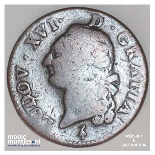 sol - France 1792 A (Paris) (KM 578.1) (kant B)