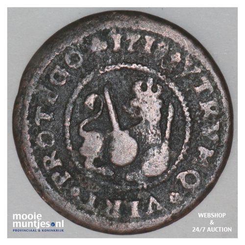2 maravedis - Spain 1718 (KM 302.1) (kant A)