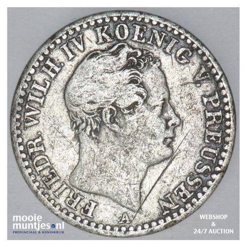 1/6 thaler - German States/Prussia 1842 A (KM 436.1) (kant B)