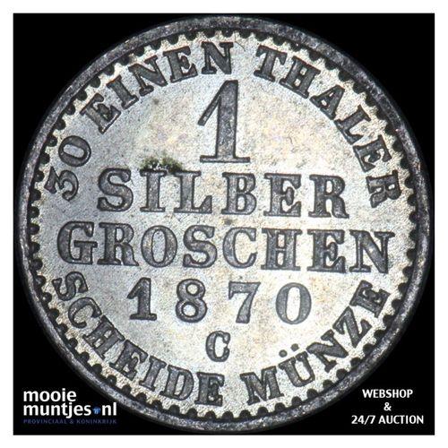 groschen - German States/Prussia 1870 C (KM 485) (kant A)