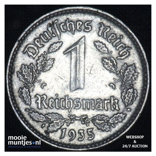 reichsmark - Germany-Third Reich 1935 A (KM 78) (kant A)
