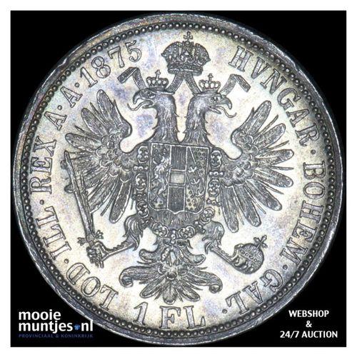 florin - Austria 1875 (KM 2222) (kant A)