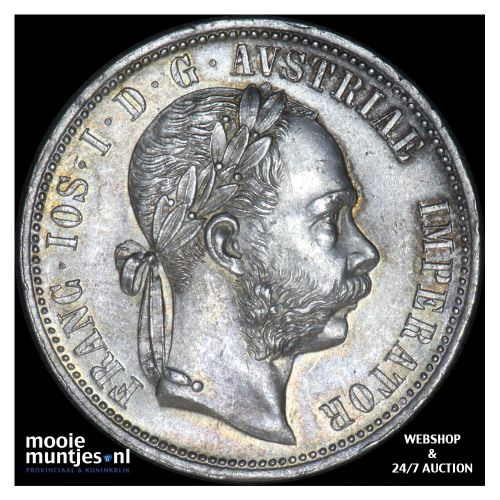 florin - Austria 1875 (KM 2222) (kant B)