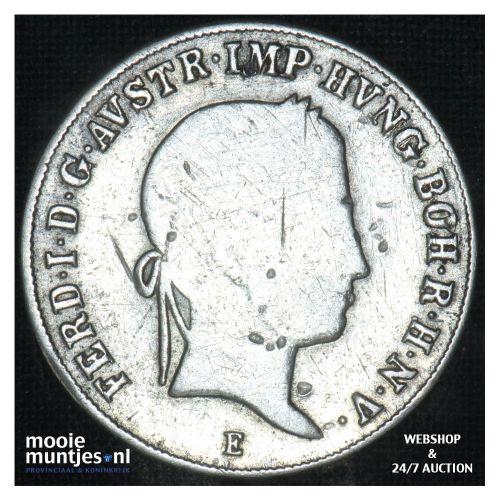 20 kreuzer - Austria 1846 E (KM 2208) (kant B)