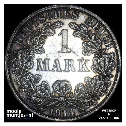 mark - Germany 1914 A (KM 14) (kant A)