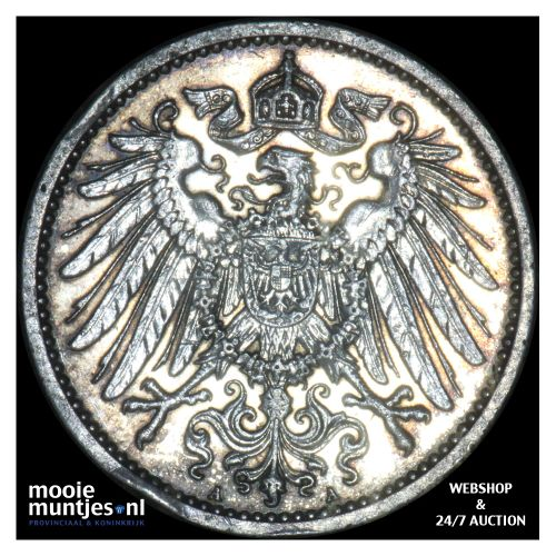 mark - Germany 1914 A (KM 14) (kant B)