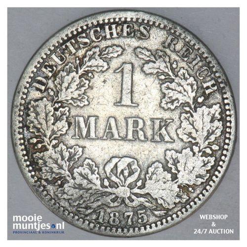 mark - Germany 1875 A (KM 7) (kant A)