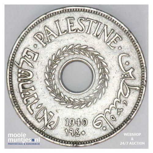 20 mils - Palestine 1940 (KM 5) (kant A)