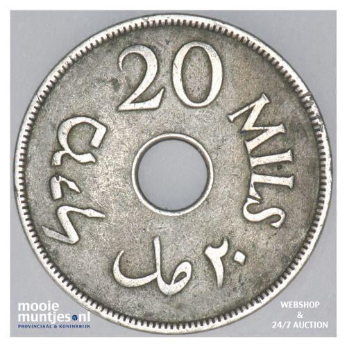 20 mils - Palestine 1927 (KM 5) (kant B)