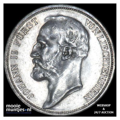 2 kronen - Liechtenstein 1915 (KM Y# 3) (kant B)
