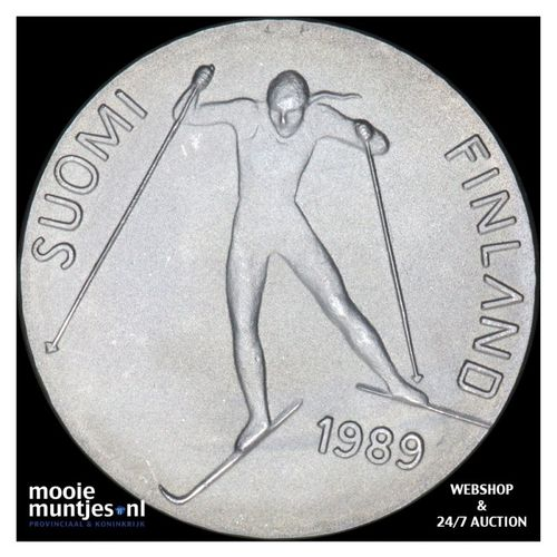 100 markkaa - Finland 1989 (KM 74) (kant A)
