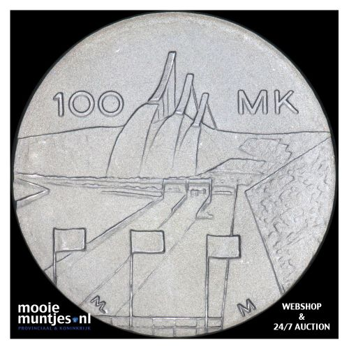 100 markkaa - Finland 1989 (KM 74) (kant B)