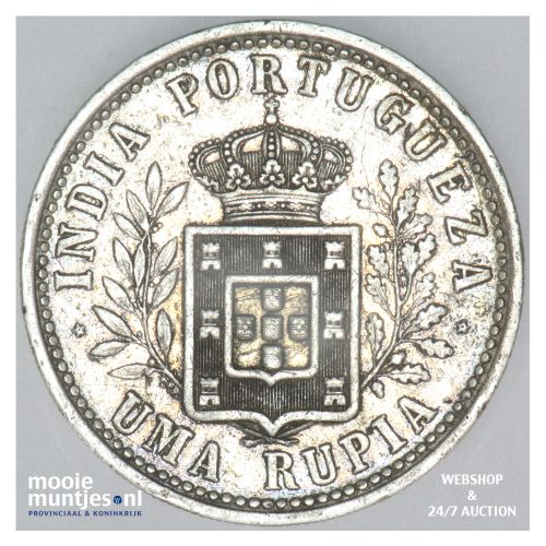 rupia - portuguese administration - European Influences in India 1903 (KM 17) (k