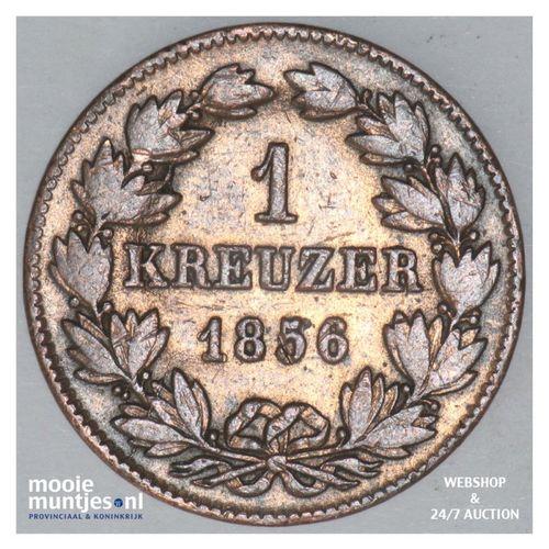kreuzer - German States/Baden 1856 (KM 232) (kant A)
