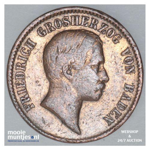 kreuzer - German States/Baden 1856 (KM 232) (kant B)