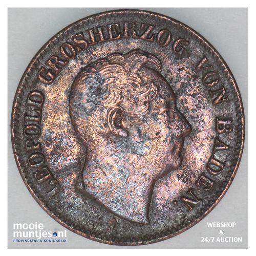 kreuzer - German States/Baden 1849 (KM 218.2) (kant B)