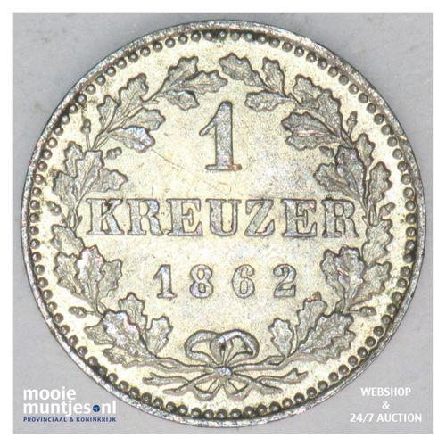 kreuzer - German States/Frankfurt am Main 1862 (KM 357) (kant A)