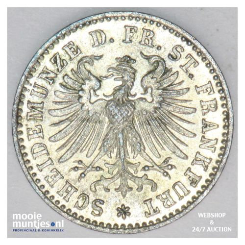 kreuzer - German States/Frankfurt am Main 1862 (KM 357) (kant B)