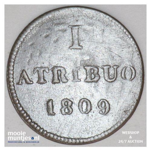 atribuo - token coinage - German States/Frankfurt am Main 1809 (KM Tn2) (kant A)