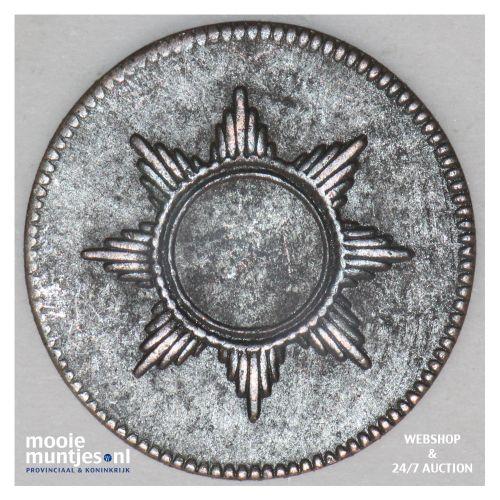 pfennig - token coinage - German States/Frankfurt am Main 1819 (KM Tn7) (kant B)