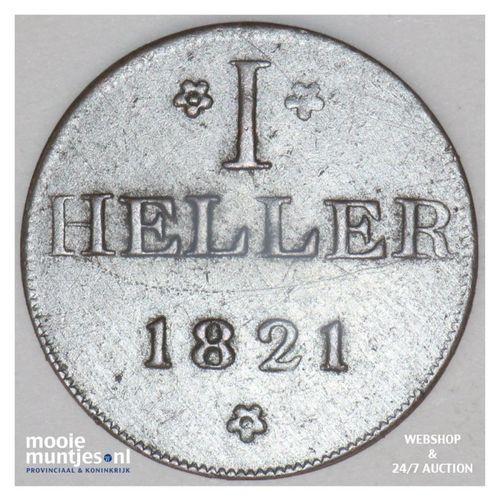 heller - token coinage - German States/Frankfurt am Main 1821 (KM Tn12) (kant A)