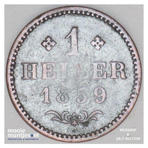 heller - German States/Frankfurt am Main 1859 (KM 356) (kant A)