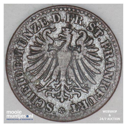 heller - German States/Frankfurt am Main 1863 (KM 356) (kant B)