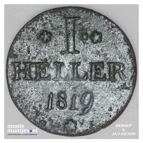 heller - German States/Frankfurt am Main 1819 (KM 301) (kant A)
