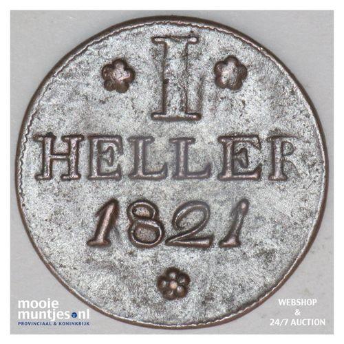 heller - German States/Frankfurt am Main 1821 (KM 301) (kant A)