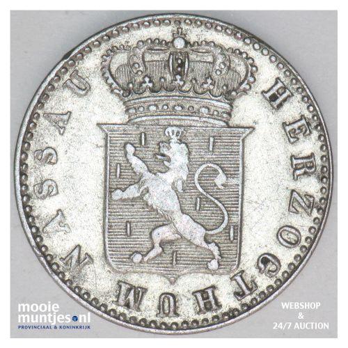 6 kreuzer - united Nassau - German States/Nassau 1834 (KM 53) (kant B)