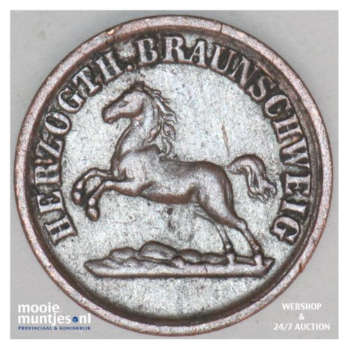 pfennig - German States/Brunswick-Wolfenbuttel 1860 (KM 1154) (kant B)