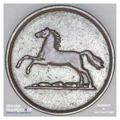 2 pfennige - German States/Brunswick-Wolfenbuttel 1851 (KM 1143) (kant B)