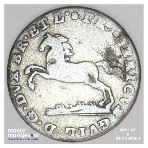 1/24 thaler (groschen) - German States/Brunswick-Wolfenbuttel 1814 (KM 1061) (ka