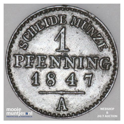 pfennig - German States/Lippe-Detmold 1847 (KM 251) (kant A)