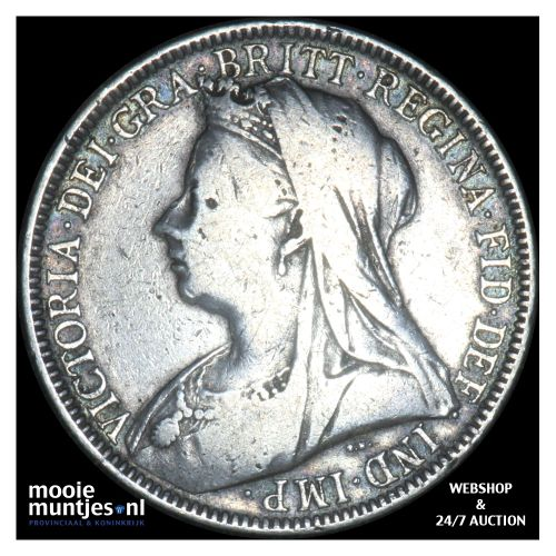 florin (two shillings) - Great Britain 1901 (KM 781) (kant B)