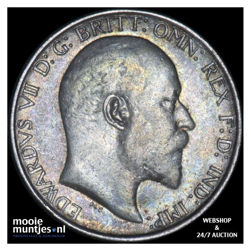 florin (two shillings) - Great Britain 1908 (KM 801) (kant B)