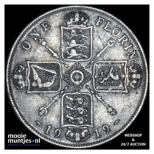 florin (two shillings) - Great Britain 1919 (KM 817) (kant A)