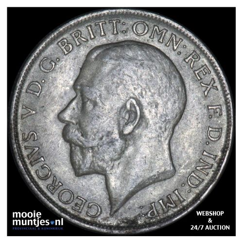 florin (two shillings) - Great Britain 1921 (KM 817a) (kant B)