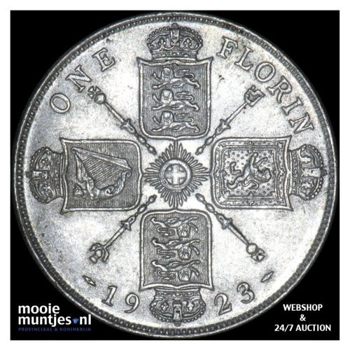florin (two shillings) - Great Britain 1923 (KM 817a) (kant A)