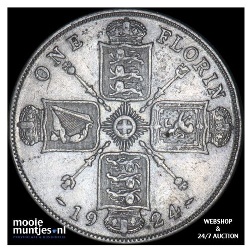 florin (two shillings) - Great Britain 1924 (KM 817a) (kant A)