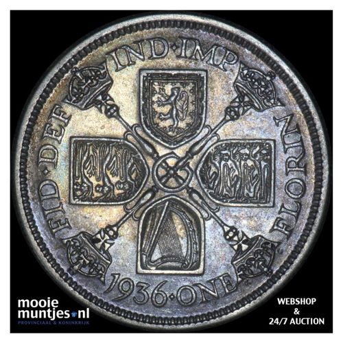 florin (two shillings) - Great Britain 1936 (KM 834) (kant A)