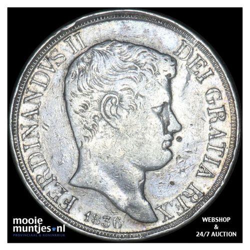 120 grana - Italian States/Naples 1836 (KM 325) (kant A)