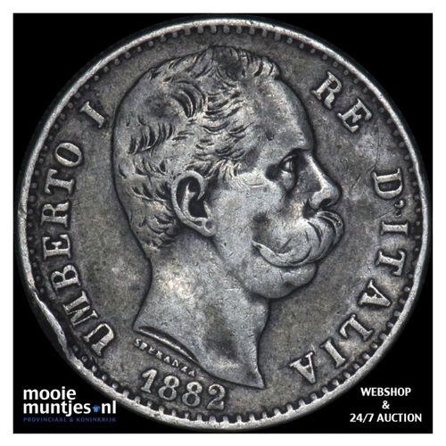 2 lire - Italy 1882 (KM 23) (kant A)