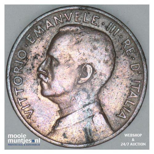 5 centesimi - Italy 1909 (KM 42) (kant B)