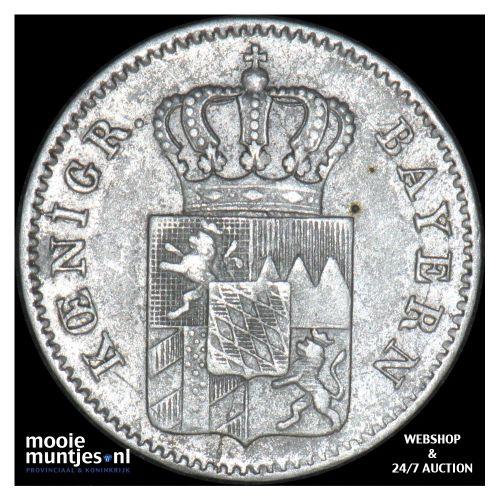 3 kreuzer (groschen) - German States/Bavaria 1847 (KM 800) (kant B)