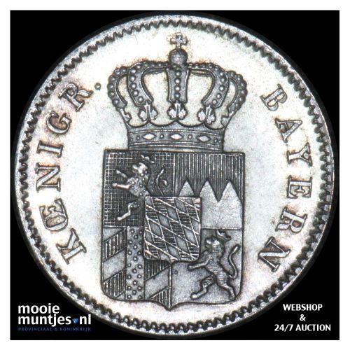 3 kreuzer (groschen) - German States/Bavaria 1848 (KM 800) (kant B)