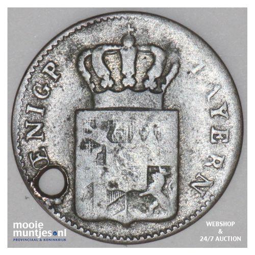 3 kreuzer (groschen) - German States/Bavaria 1853 (KM 800) (kant B)