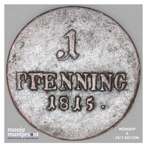 pfennig - German States/Bavaria 1815 (KM 680) (kant A)